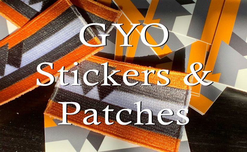 Get Your GYO Stickers & Patches Here